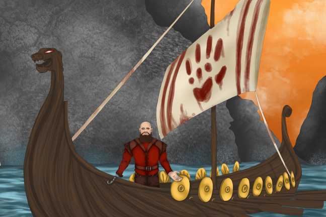 Zod Sails Away
